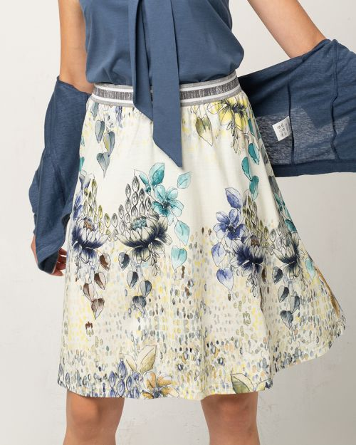 Art-Flower Skirt