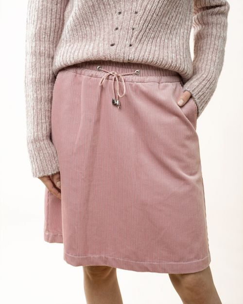 Cablecord Skirt dusty rose 42