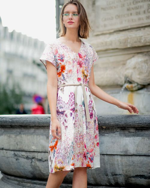 Art-Flower Dress